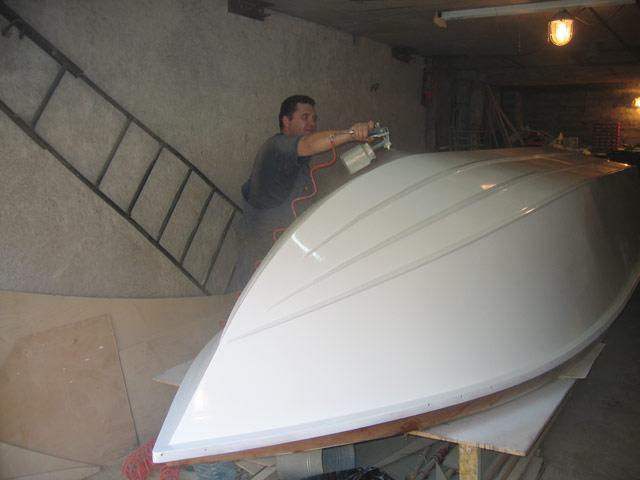 сделать катер лодку из стеклопластика