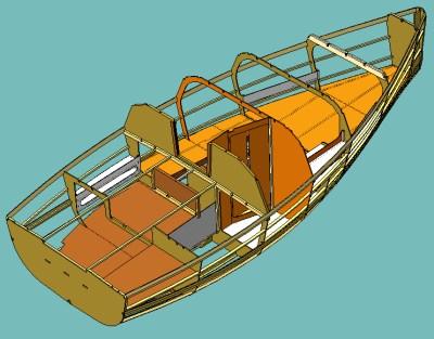 antresol: скачать программу постройки чертежей корпуса лодки.