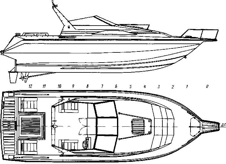 проектирование катера лодки яхты 3d