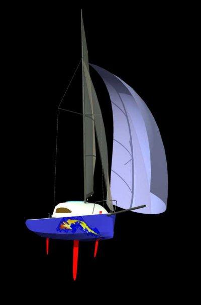 Яхта Лиса 500